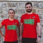 Les T-shirt Asics «finisher» du marathon de paris à la sauce écolo