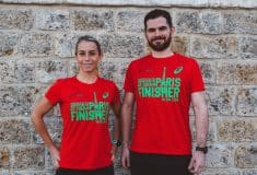 Image de l'article Les T-shirt Asics « finisher » du marathon de paris à la sauce écolo