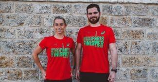 Image de l'article Les T-shirt Asics «finisher» du marathon de paris à la sauce écolo