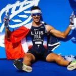 Vincent Luis, champion du Monde de triathlon avec la Nike Vaporfly Next%