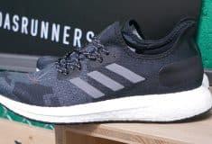 Image de l'article adidas présente le modèle AM4, co-créé avec les adidas runners