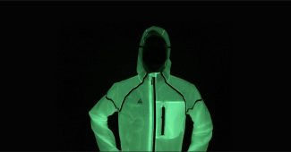 Image de l'article V-Light Firefly, la veste coupe-vent phosphorescente de Verjari