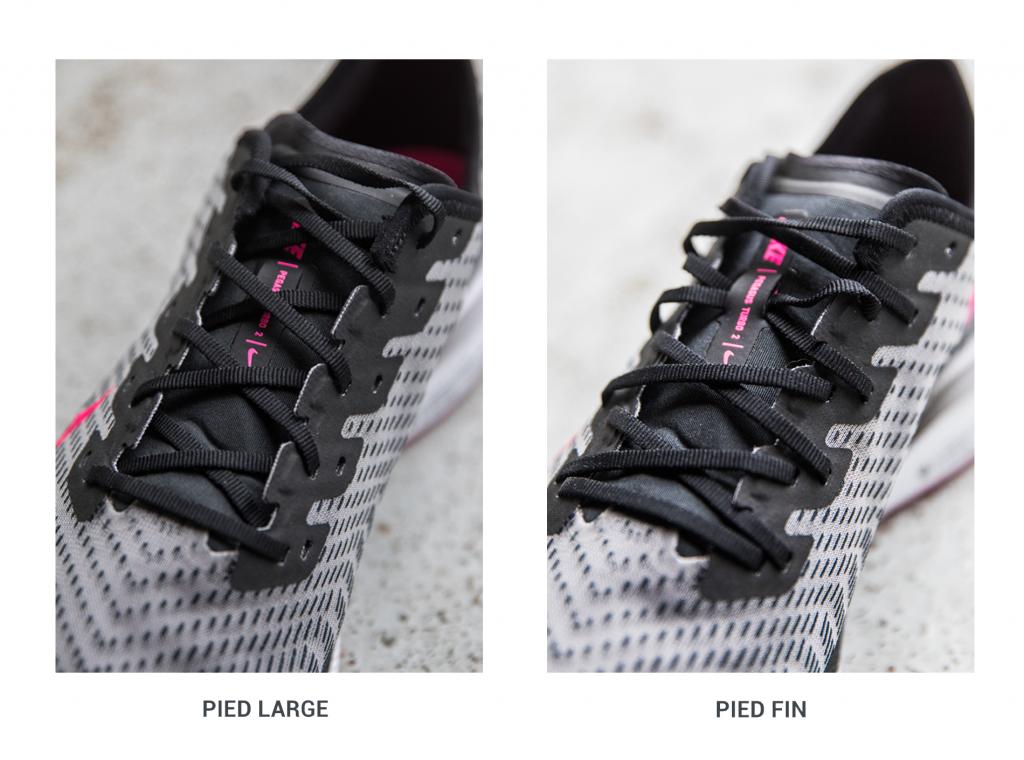 Lacage-chaussures-running-deux-rangées-oeillets-runpack
