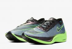 Image de l'article Un nouveau coloris bleu foncé et vert de la Nike Vaporfly Next% est disponible!