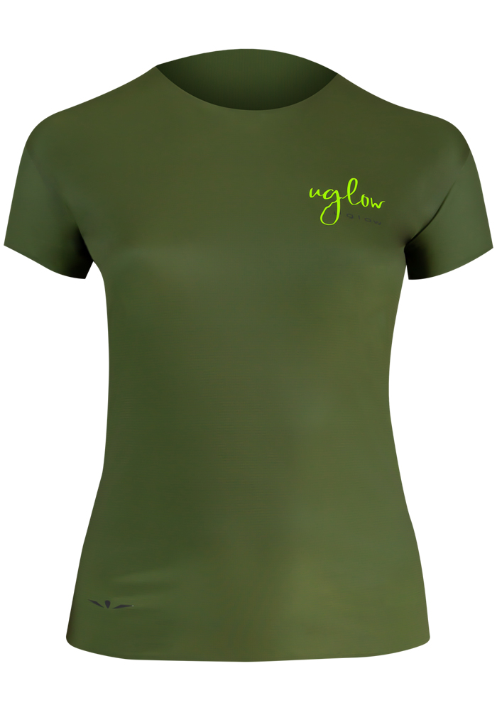 Uglow-collection-capsule-1-t-shirt-femme-Super-Speed-AERO-kaki