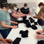 La Chaussette de France s'adapte en produisant des masques