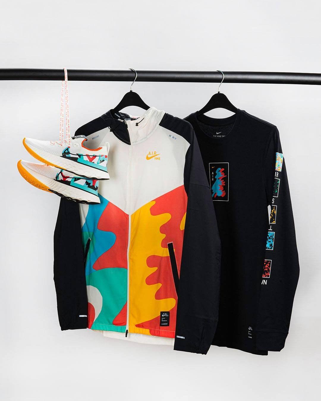 Nouvelle collection A.I.R. de Nike par l'artiste A. Savage