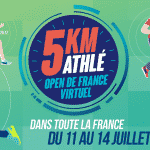 La fédération française d'athlétisme lance sa course virtuelle : le 5km Athlé – Open de France Virtuel