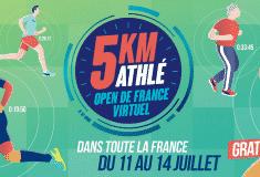 Image de l'article La fédération française d'athlétisme lance sa course virtuelle : le 5km Athlé – Open de France Virtuel