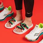 Saucony complète sa collection Endorphin… avec une paire de claquettes pour la récupération!