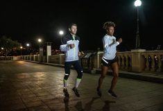 Image de l'article Restez visible la nuit avec la nouvelle collection Run Visible de Brooks