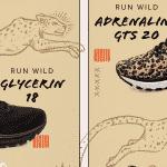 Brooks complète sa collection Run Wild avec une Adrenaline GTS 20 et une Glycerin 18