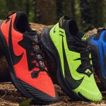 Nouveaux coloris ultra vifs pour la gamme trail de Nike