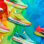 Saucony a lancé sa collection mutant haute en couleurs