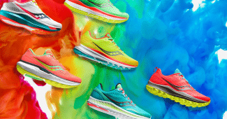 Image de l'article Saucony a lancé sa collection mutant haute en couleurs