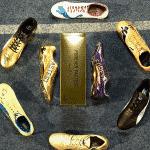 Les pointes de sprint portées par Usain Bolt tout au long de sa carrière