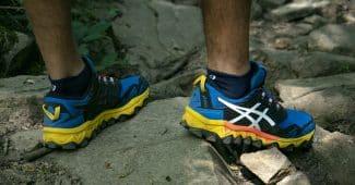 Image de l'article La GEL-FUJITRABUCO 8 d'ASICS : du confort, de l'accroche et de la protection pour vos sorties trail!