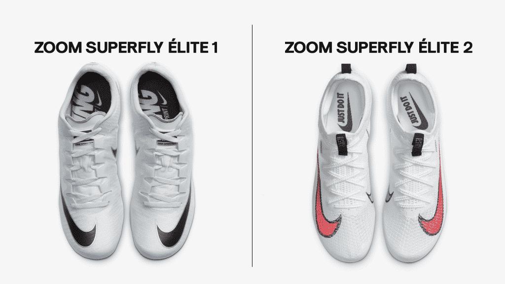 Comparaison-Nike-Zoom-Superfly-Élite-1-2-empeigne-2