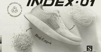 Image de l'article L'INDEX.01, une chaussure de running haute performance recyclable par Salomon