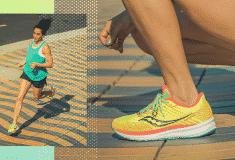 Image de l'article Saucony a lancé la Ride 13, une chaussure d'entraînement polyvalente
