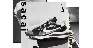 Image de l'article Nike x sacai VaporWaffle : la sneaker inspirée de la Pegasus et de la Vaporfly