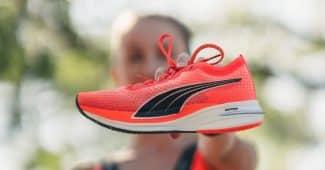 Image de l'article PUMA dévoile sa première chaussure à plaque carbone : la Deviate Nitro