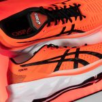 ASICS et son nouveau pack Sunrise Red