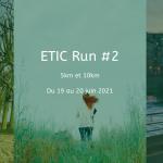 ETIC RUN : courez pour votre santé et celle de la planète