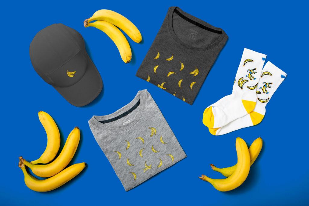 Brooks Collection Run Happy Banane