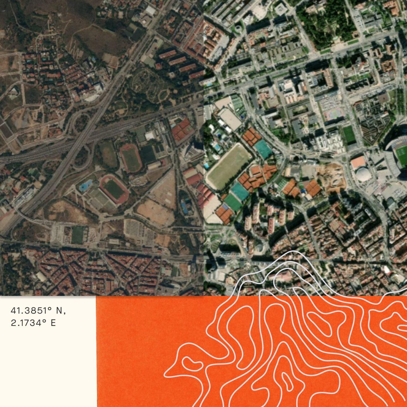 Strava Cartes Satellites Barcelone