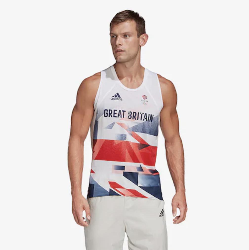 tenue olympique grande bretagne running 1