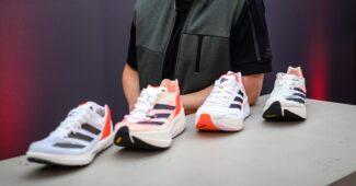 Image de l'article ADIOS PRO 2, BOSTON 10, PRIME X, AVANTI TRACK SPIKE : les nouveautés de la gamme ADIZERO d'adidas