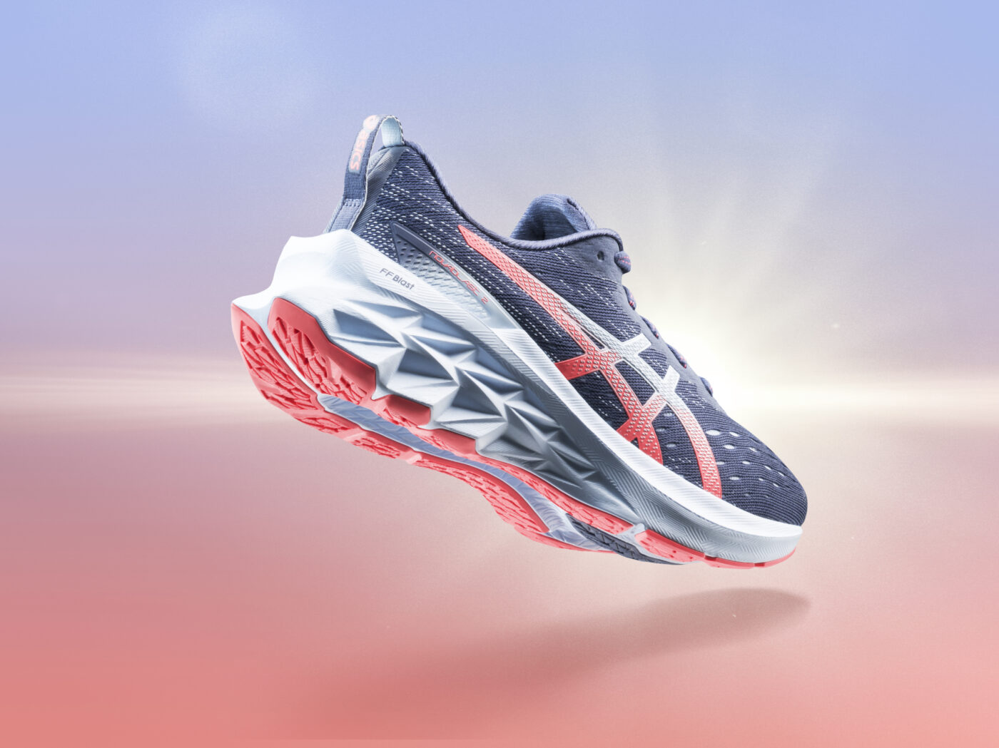 asics novablast 2 chaussure de course 1