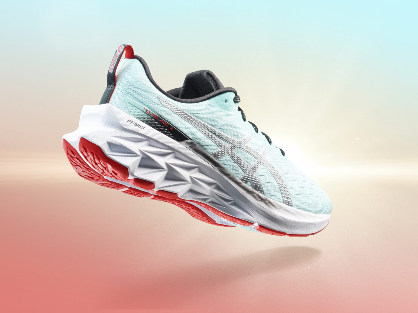asics novablast 2 chaussure de course 4