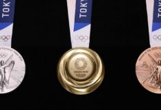 Image de l'article JO de Tokyo 2020 – de quoi les médailles sont-elles constituées ?