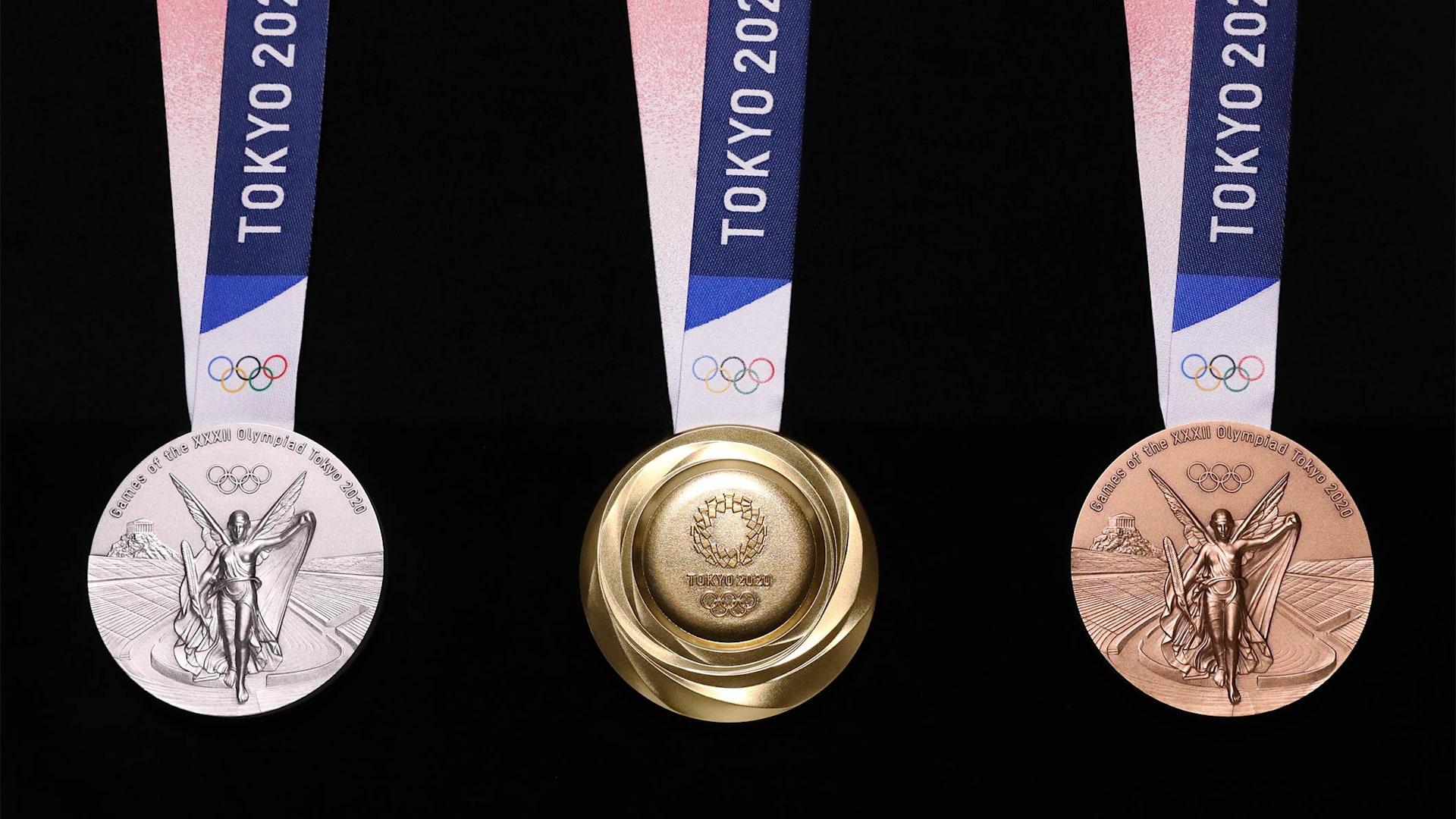 médailles jo tokyo