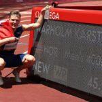 Karsten Warholm JO Tokyo : les chaussures portées sur son record du monde du 400m haies