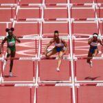 JO 2021 Finale 100m haies : une hurdleuse avec des pointes de demi-fond