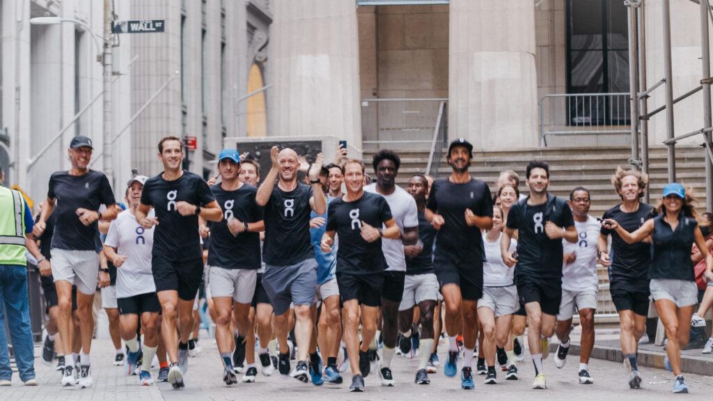 On running entrée en bourse New york
