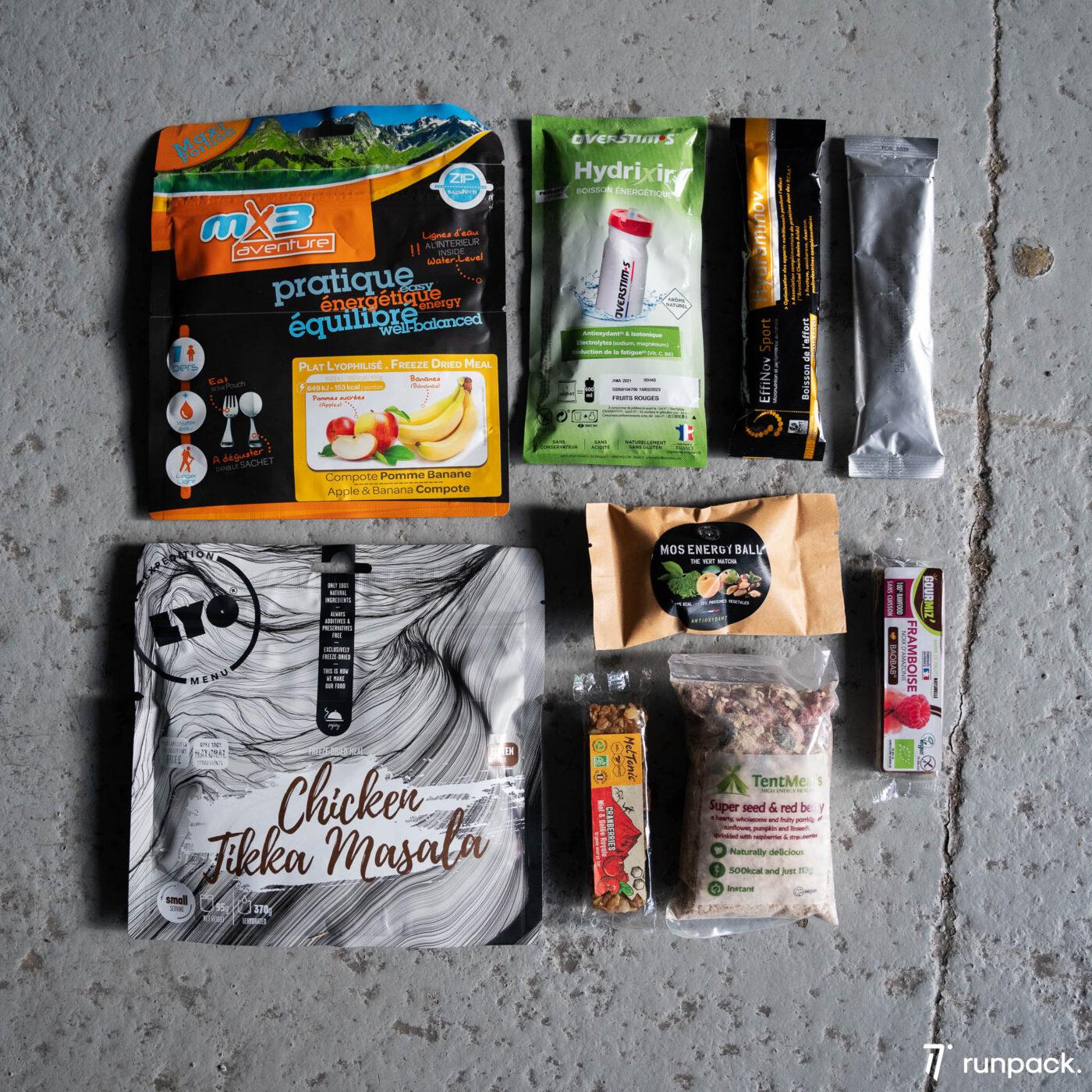 produits lyophilise and co runpack 3