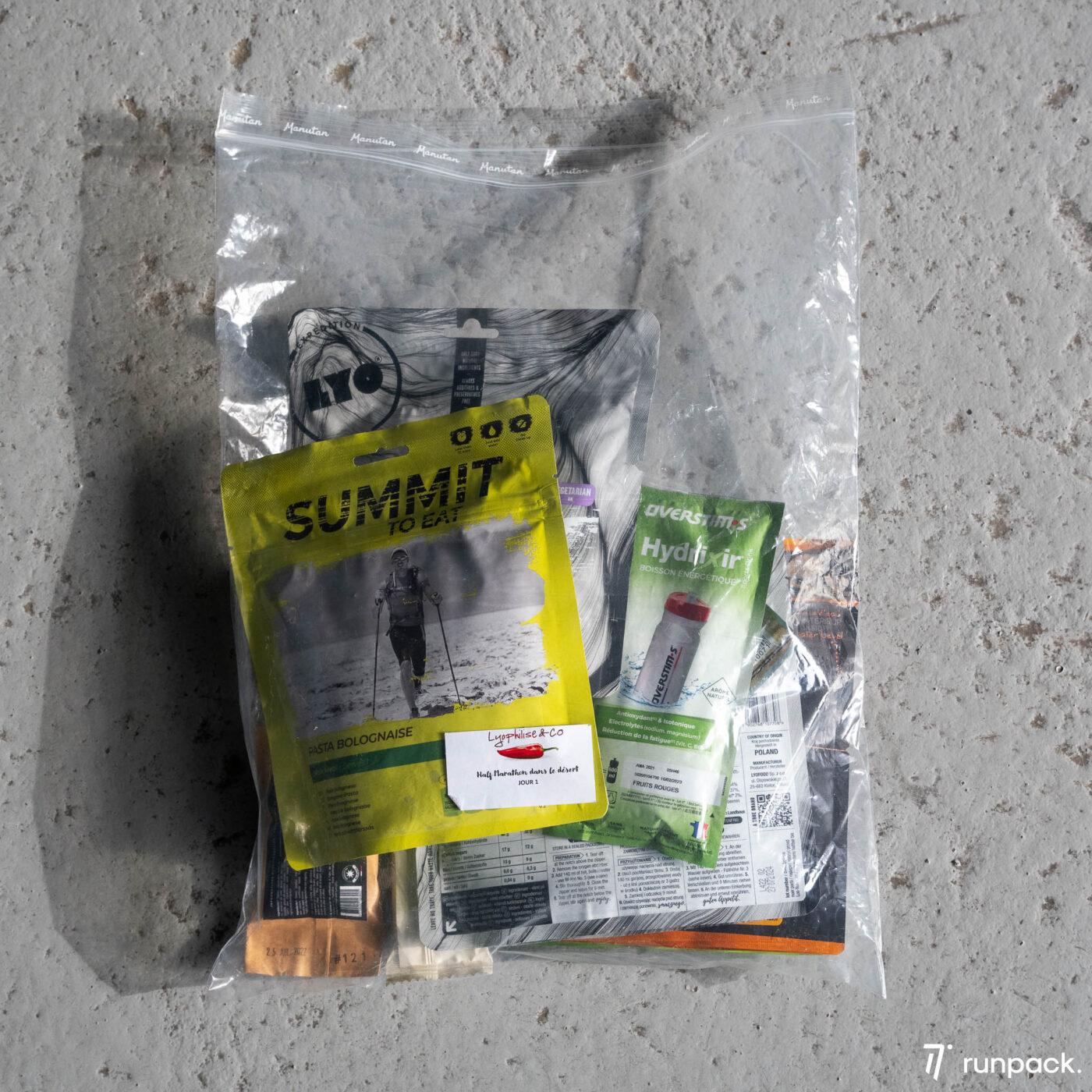 produits lyophilise and co runpack 8