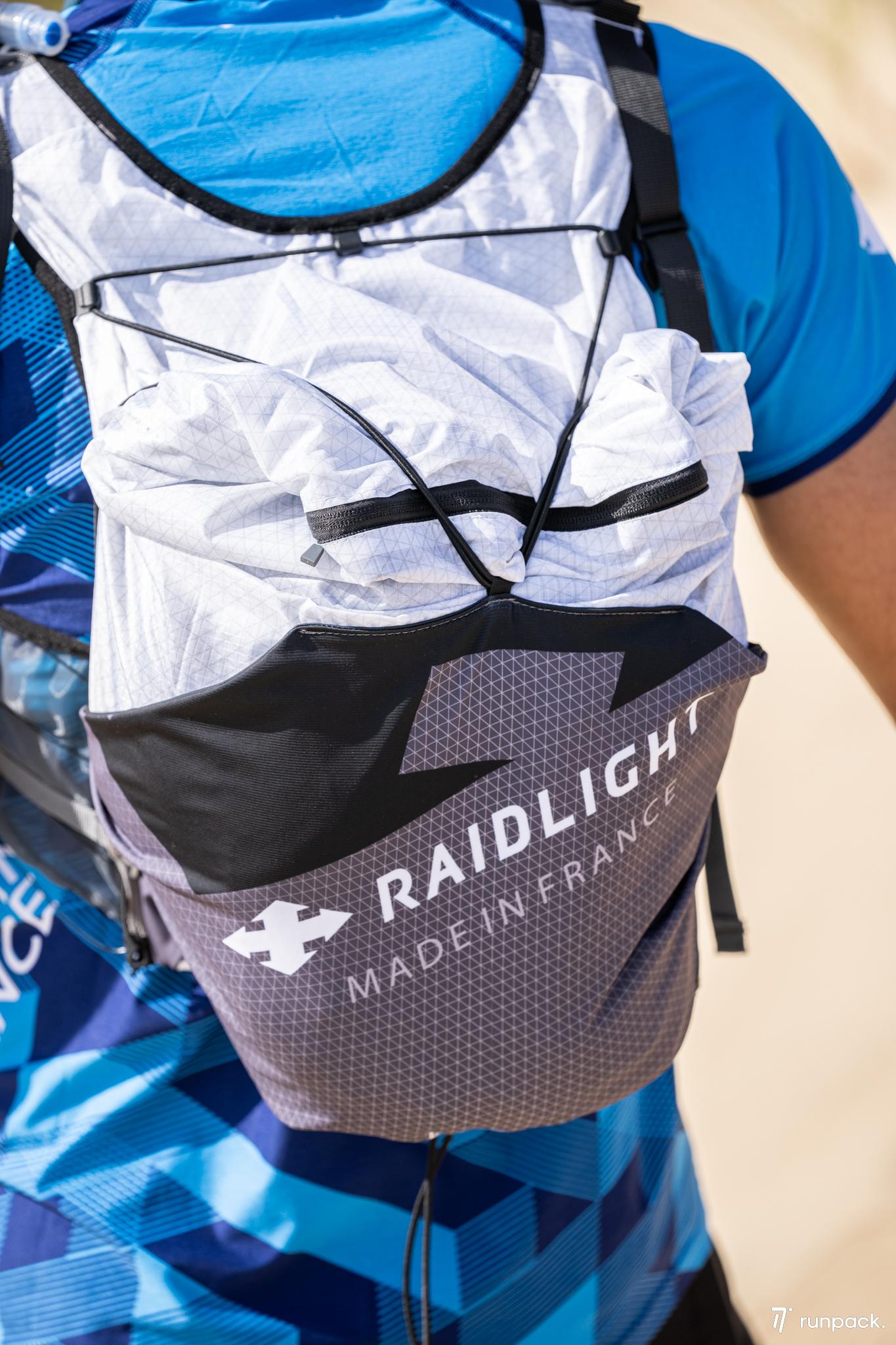 raidlight présentation panoplies hmds runpack 2