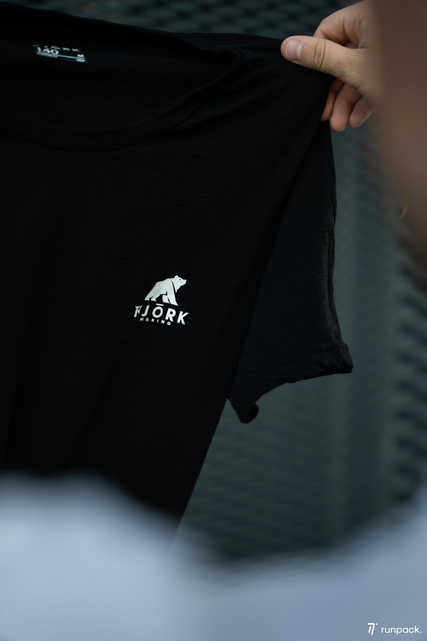 test tshirt fjork merinos runpack 5